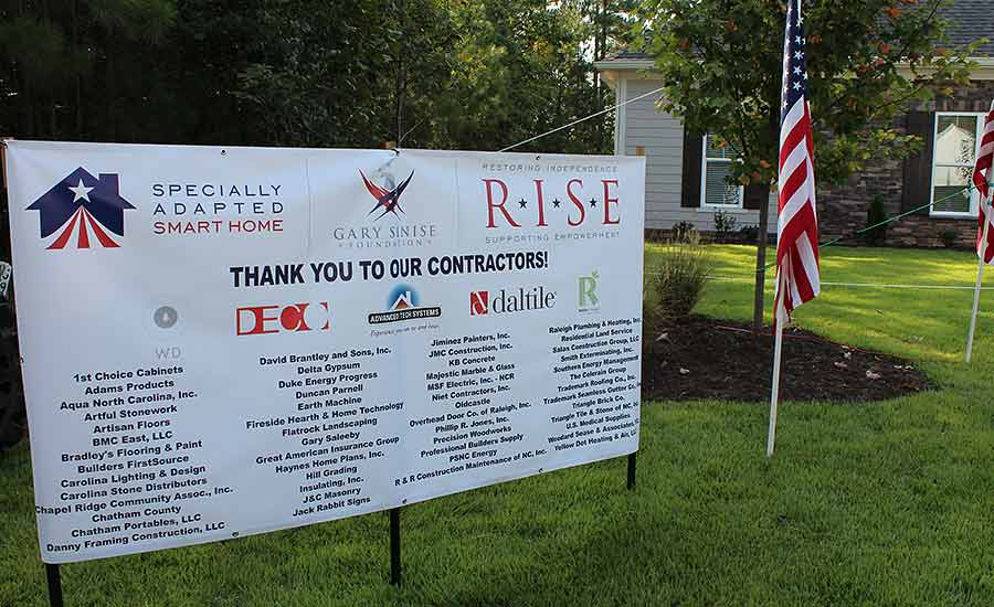 Gary Sinise Foundation's R.I.S.E. program