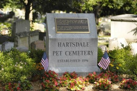 Beloved pet headstone