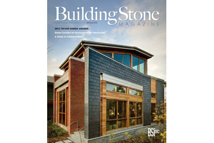 building stone magazine cover