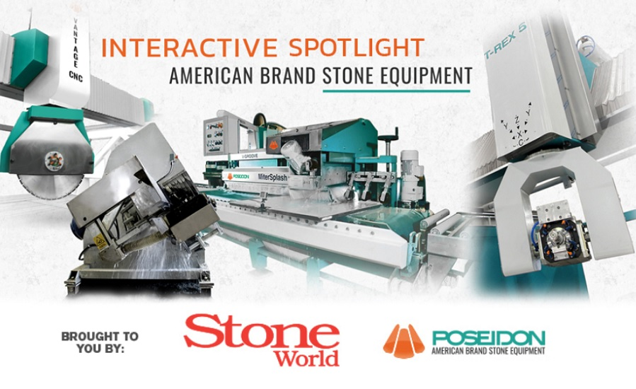 Poseidon American brand stone equipment- 2019-08