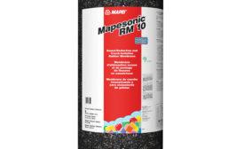 MAPEI's new sound-reduction membrane