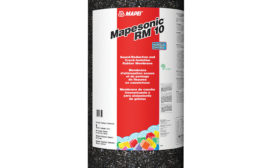 MAPEI's new sound-reduction membrane