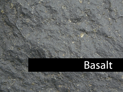 Basalt stone articles