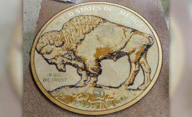 Buffalo Pacific Company's floor medallion