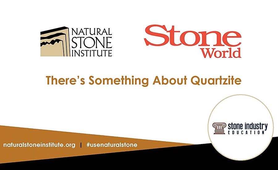 Stone Summit: There's something about quartzite