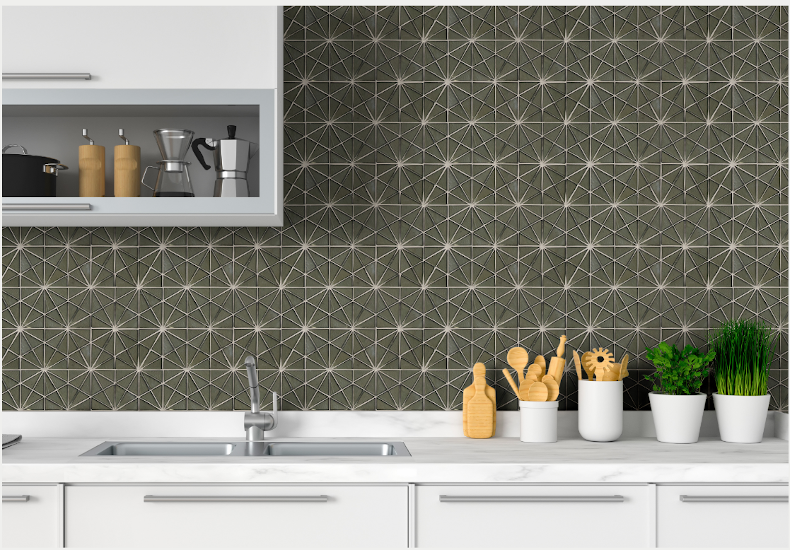 New Unique Handcrafted Glass Tiles for Elevated Style