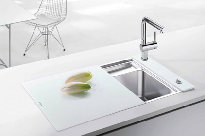 Blanco Crystalline compact sink