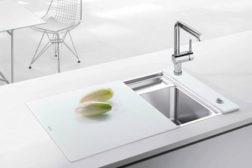 Blanco Crystalline compact sink