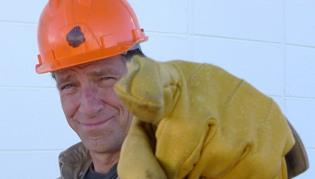 Mike Rowe from Dirty Jobs