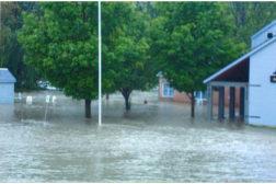 Flooding from Hurricane Irene