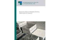 Marble Institute of America Radon studies
