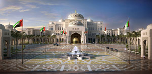 Presidential Palace in Abu Dhabi