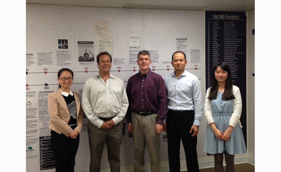 Xiamen Stone Fair organizers meet with Stone World and MIA