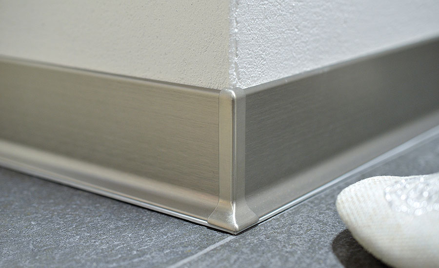 Schluter Releases New Metal Wall Baseboard For Commercial