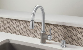 The Sonoma pull-down faucet from Blanco.