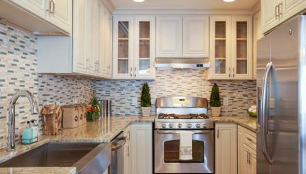 Artisan Stone Collection countertops in Typhoon Green granite