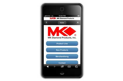 MK Diamond web site