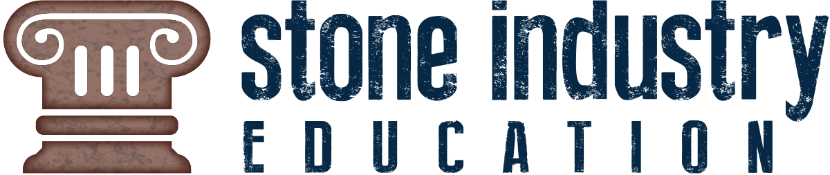 Stone industry education logo